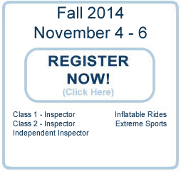 PA Ride Safety Seminar Fall 2014
